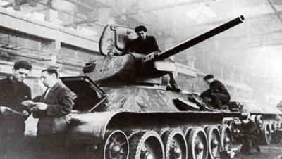 Usine d'Armement d'Eriagrad T34